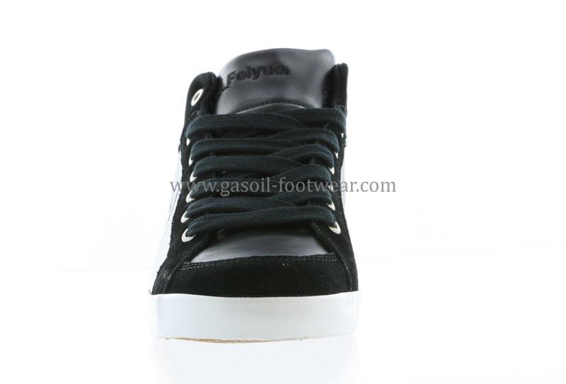 FEIYUE Baskets Delta Mid Leather Homme