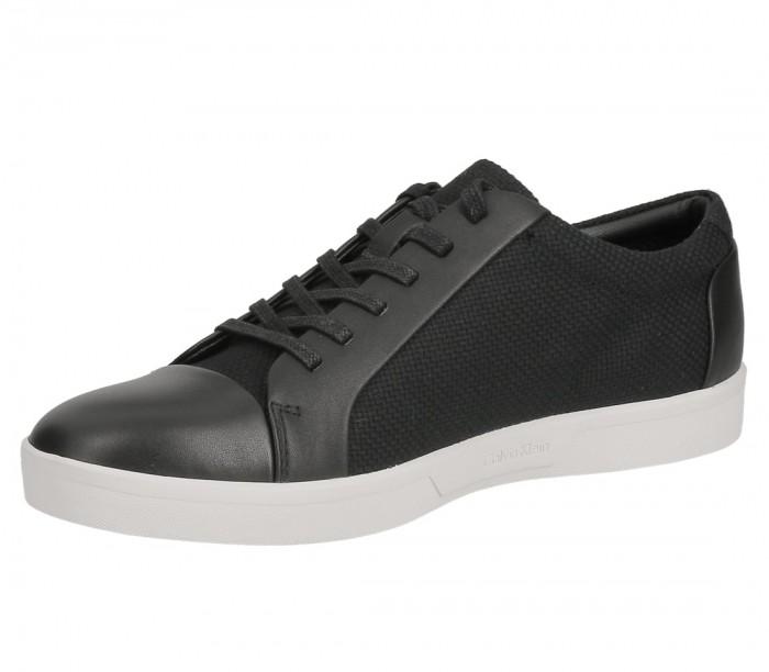 Calvin Klein Igor 2 Nappa calf leath canvas black F1072BLK