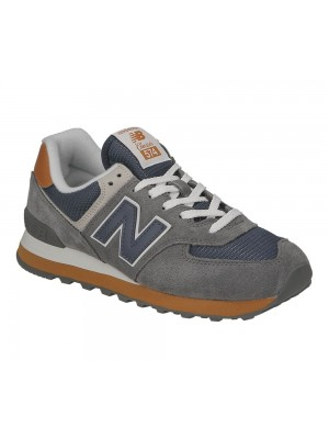 New Balance ML574 MUC castlerock leather textile 722221 60