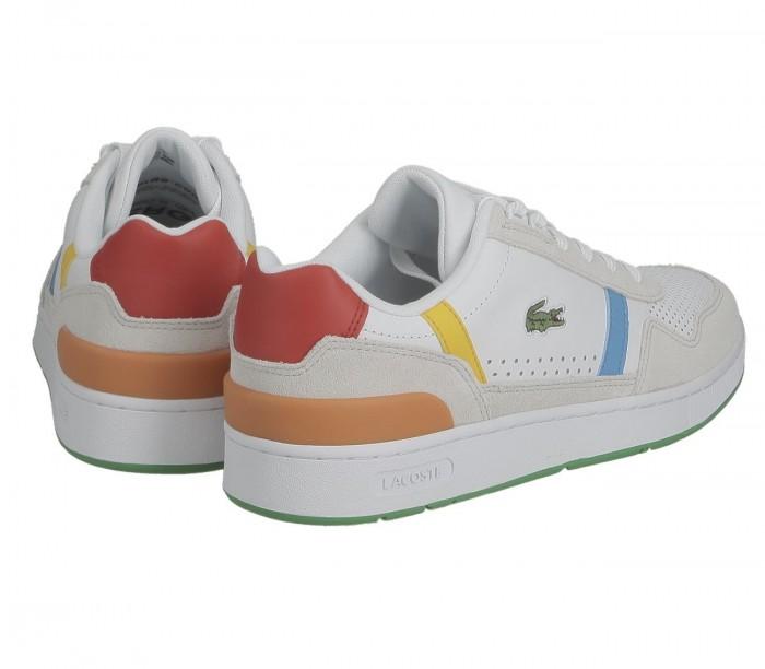 Sneakers Lacoste X Polaroid T-Clip 0921 2 SMA Wht Grn 41SMA0110082