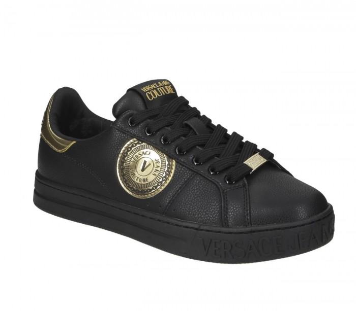 Basket Versace Jeans Couture Court 88 Black Dis.20 E0Ywask1 71974 899 Grainy Mirror