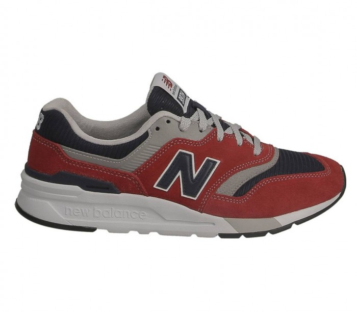 New Balance CM997 HBJ 774411 60 4 red navy Suede Textile