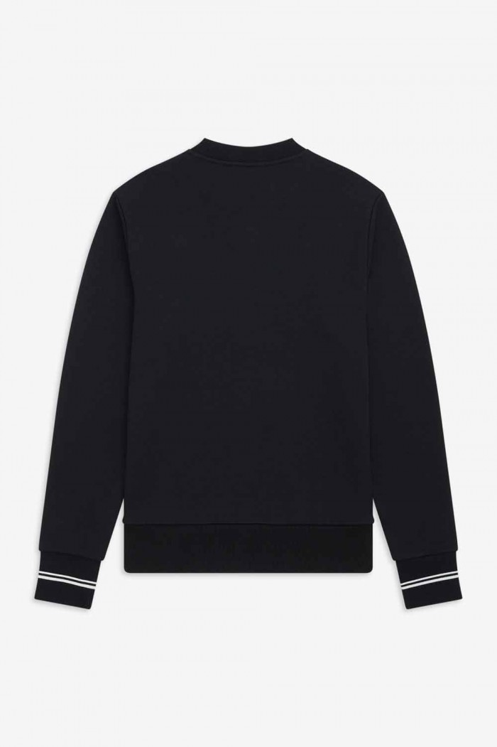 Sweatshirt Fred Perry Crew Neck Black M7535 102