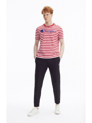 T-shirt Champion Europe crewneck stripe 212972 s19 RM005 HTR WHT