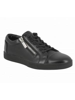 Calvin Klein Ibrahim box leather black black F0933BBK