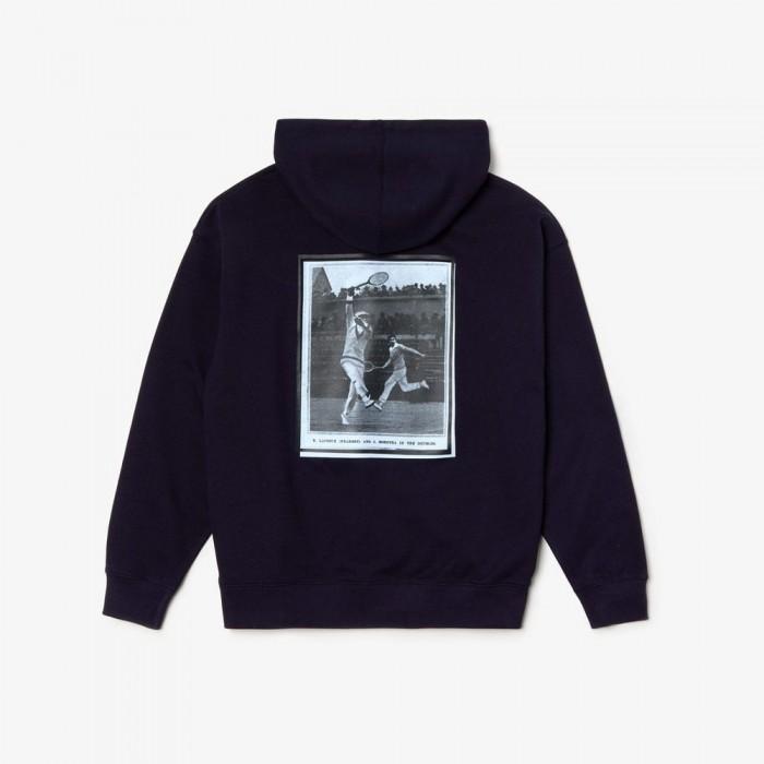 Sweatshirt Lacoste SH4924 8CC navy blue cabaret creek