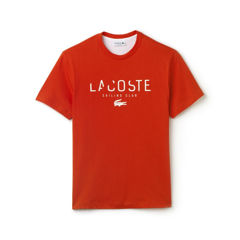 t shirt lacoste rouge. Black Bedroom Furniture Sets. Home Design Ideas