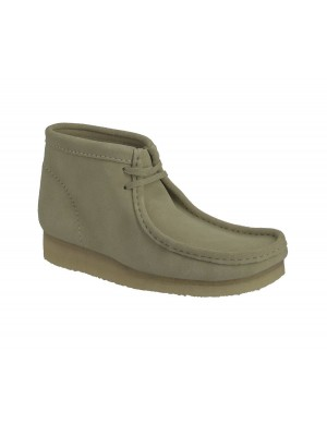 Bottines Clarks Originals Wallabee Boot maple suede 26155516