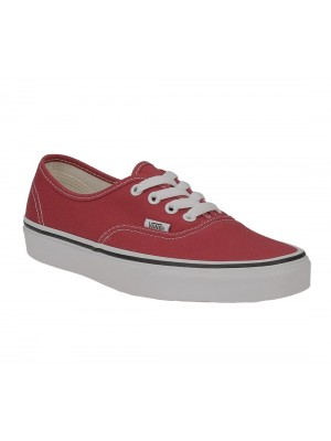 Vans authentic crimson true white VA38EMQ9U color Rouge