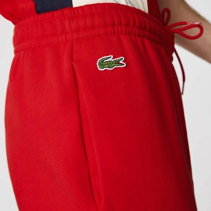 Pantalon de Survêtement Lacoste XH0706 HC3 Red Naturel Clair Navy Bl
