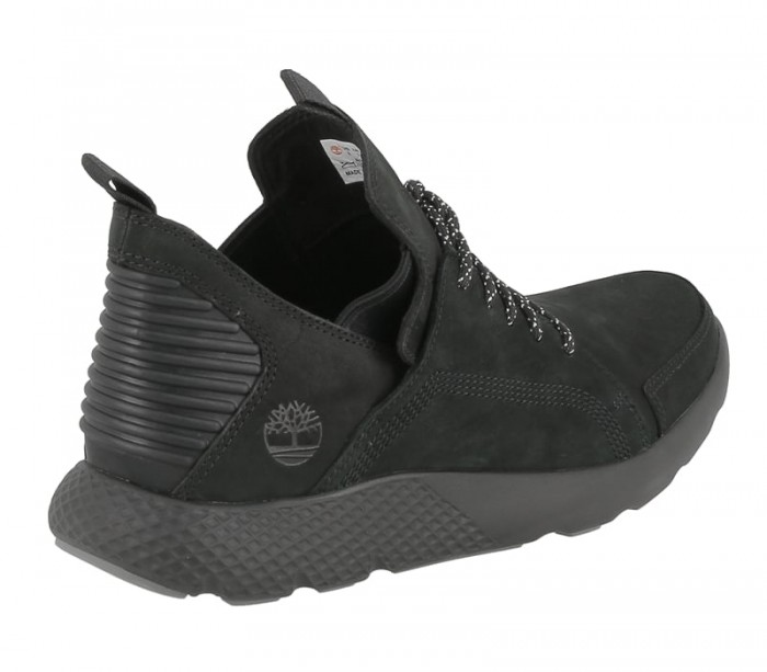 Timberland mens Flyroam wedge jet black A1JSW