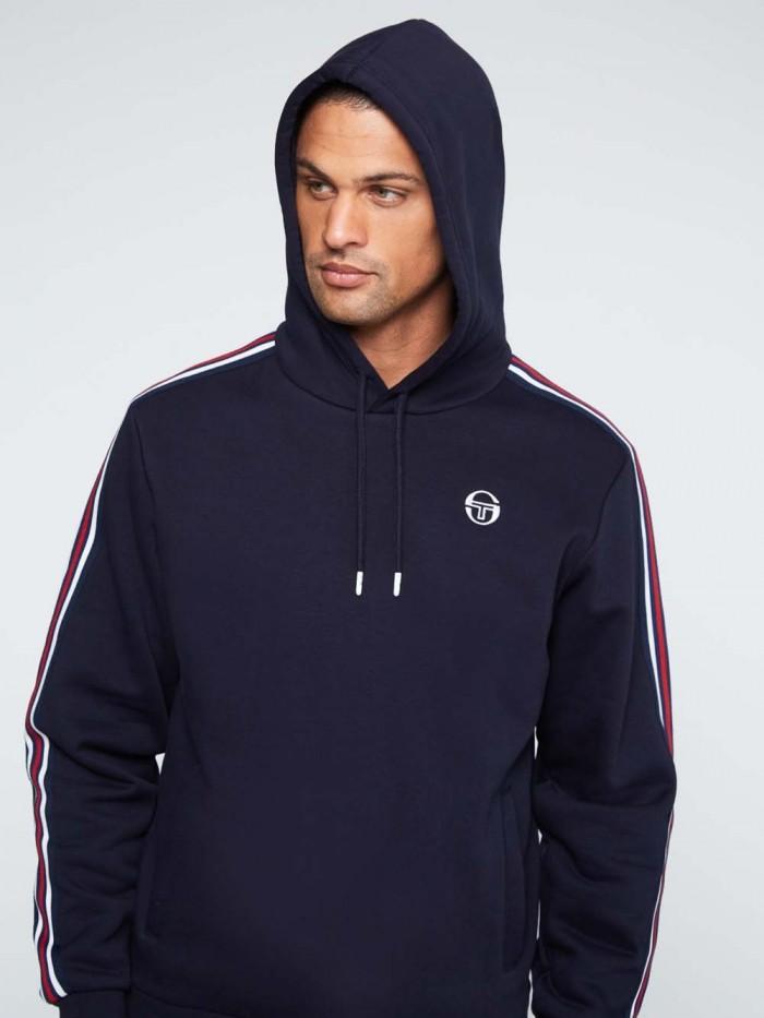 Sweatshirt à capuche Sergio Tacchini Nostello 39348 203 Navy Blue