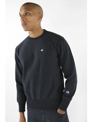 Champion Europe Sweatshirt small logo Crewneck 210965 BS501 NNY navy Limited Edition (apparel)