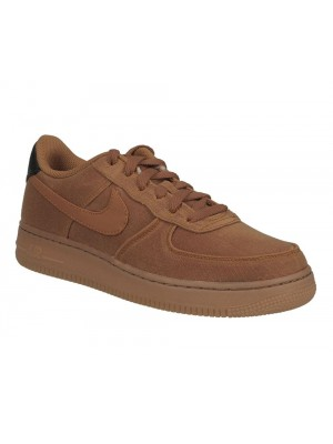 Nike Air Force 1 LV8 Style GS AR0735 800 monarch monarch gum med brown