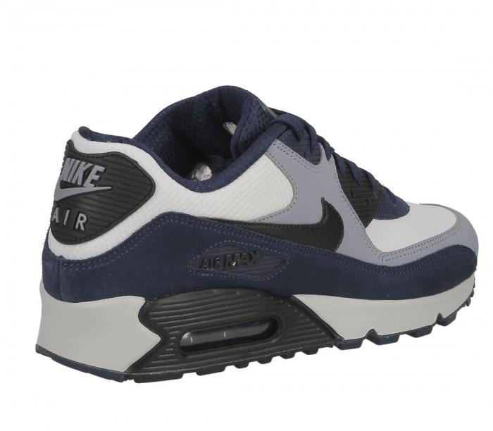 basket nike air max 90 leather bleu 302519-400