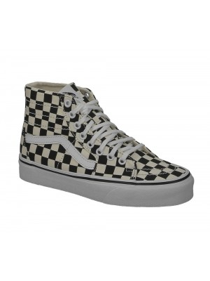 Basket Vans Sk8 Hi tapered checkerboard blk true white VN0A4U165GU1