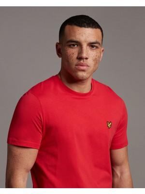 T-shirt Lyle & Scott TS400V Z799 crew neck gala red