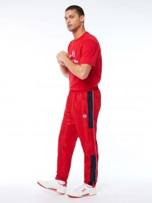 Pantalon de Survêtement Sergio Tacchini Abita 39145 650 Red