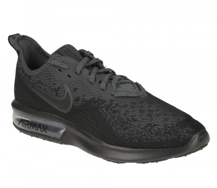 Nike Baskets Air Max Sequent 4 AO4485 002 Black Anthracite