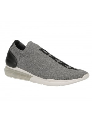 DKNY Neptune Slip on SN K3824991 Stretch Flannel Dark Grey DGY