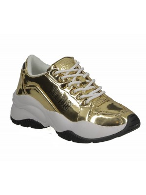 Basket Versace Jeans Couture dame E0VZBSI3 Extreme Dis.SI3 couleur or.