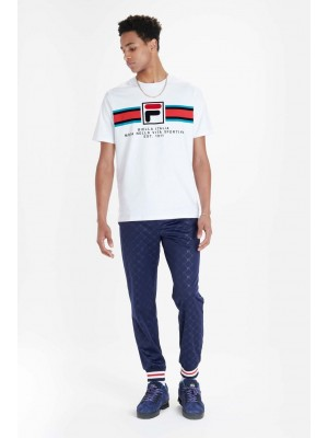 Fila Mercedes F box graphic tee  white LM911261 100