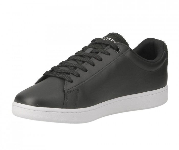 Lacoste Carnaby Evo 119 3 SMA blk wht leather 737SMA001031291