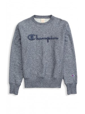 Sweatshirt Champion Europe crewneck big logo 212393 KJ001 grey Limited Edition