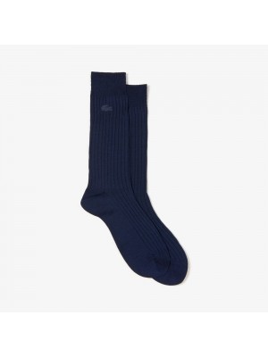 Chaussettes Lacoste RA0371 166 Navy Blue