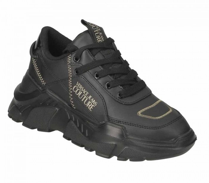 Basket dame Versace Jeans Couture Linea Fondo Speed Dis.1 Leather Speed E0VUBSC1 71263 M27