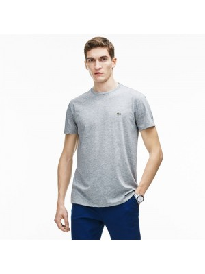 T-shirt Lacoste TH6709 CCA SILVER CHINE