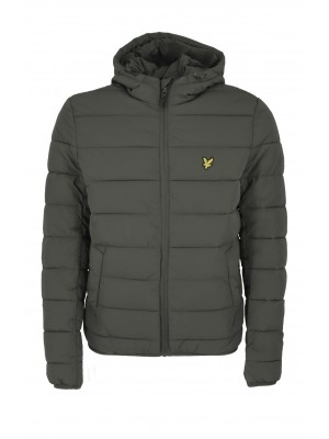 Lyle & Scott JK1317V W123 light weight puffer jacket trek green