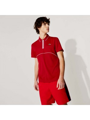 Polo Lacoste DH9658 EW6 Rouge Blanc