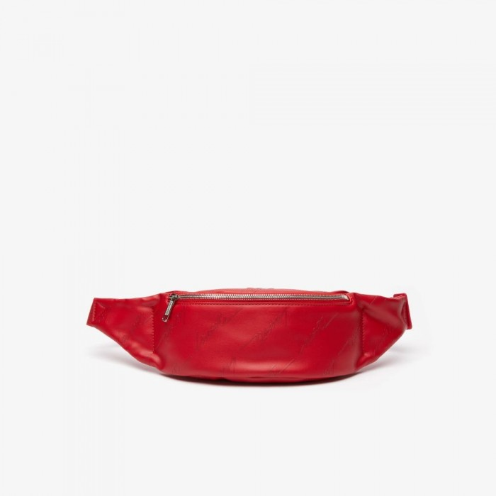 Sac banane Lacoste NH3150TL 280 Tango Red Live Signature