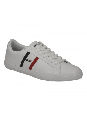 Lacoste Lerond Tri1 Cma Wht Nvy Red