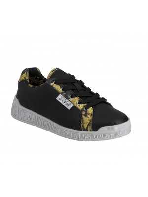 Basket Versace Jeans Versace Jeans Couture Penny Dis. Sp1 Black E0Vwasp1 71973 M27 Printed Leather