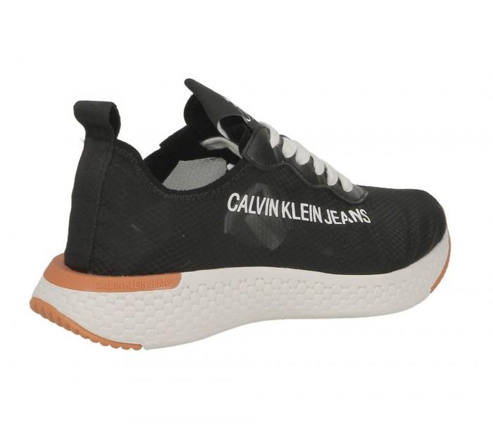 Calvin Klein Jeans Alexia semi transparent nylon black R7808 BLK