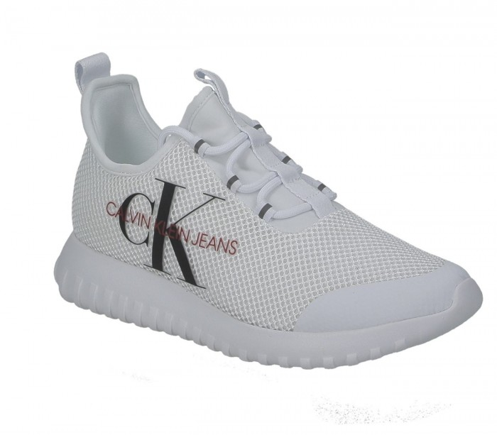 Basket dame Calvin Klein Jeans Rosilee slip on B4R1640 white