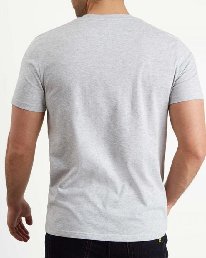 T-shirt Lyle & Scott Logo TS1020V D24 Light Grey Marl