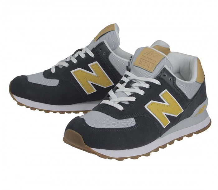 Basket New Balance ML574 NA2 Outerspace Varsity Gold