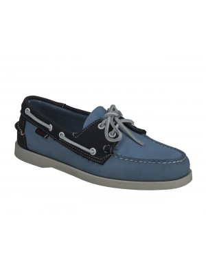 Chaussure Sebago Docksides Portland Archive lt blue blue 7111PSW A4W
