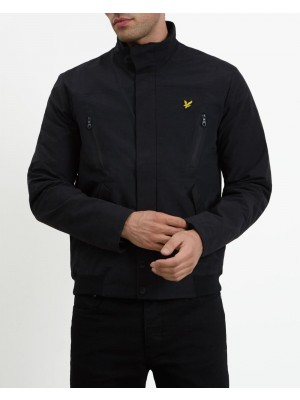Lyle and Scott panelled jacket 1901 JK1005V 002 572 true black