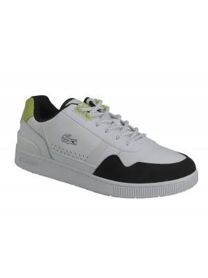 Basket Lacoste T-Clip 0120 1 Sma Wht Blk 740SMA007614703