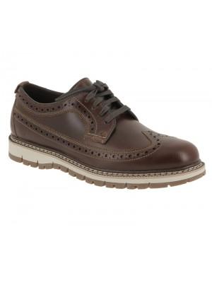Chaussure Timberland mens Britton hill Wingtip dark  brown CA184Z
