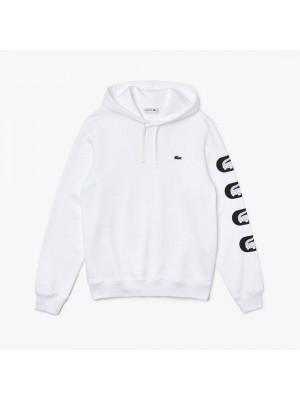 Sweatshirt à capuche Lacoste SH6903 001 Blanc