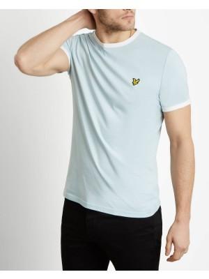 T-shirt Lyle & Scott ringer TS705V Z496 blue shore