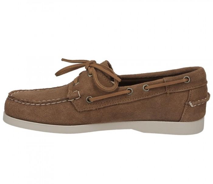 Sebago Docksides Portland suede brown cognac 7000G90 907