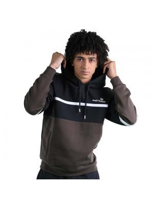 Sweatshirt à capuche Sergio Tacchini Norbert 39318 551 Black Olive