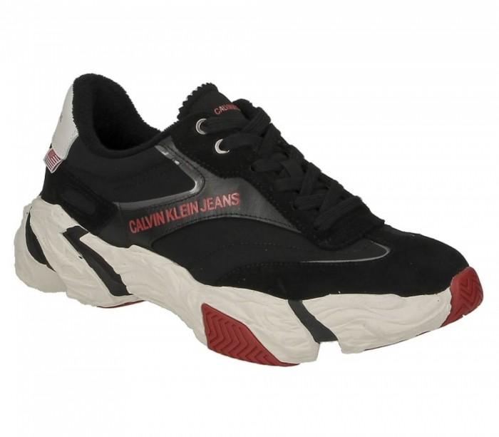 Basket dame Calvin Klein Jeans Sigma black B4R0884 001