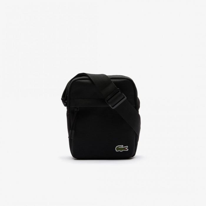 Sacoche verticale zippée Neocroc Lacoste NH210NE 991 noir